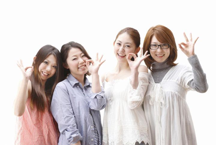 女性4名でご来店!珍しいことです。