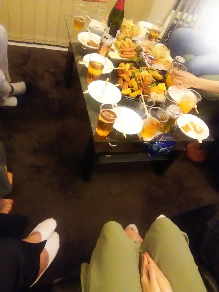 北九州サロンでパーティーを開催いたしました
