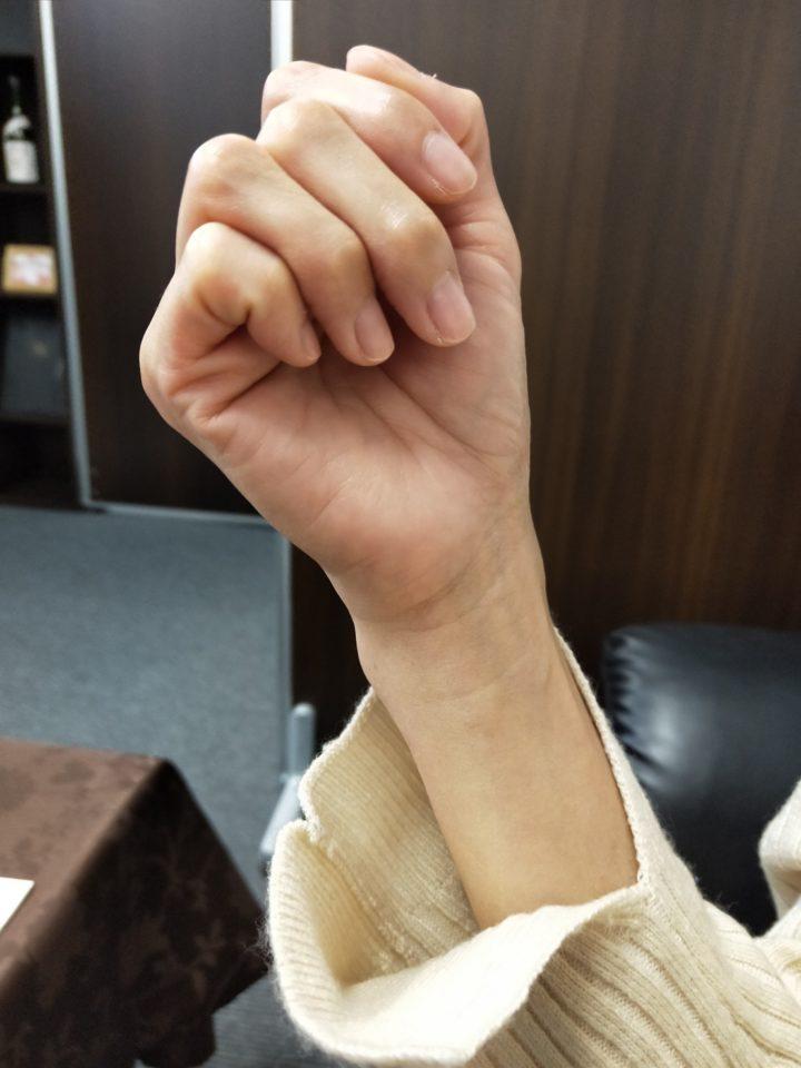 この綺麗な手の持ち主は・・・